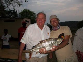 tiger fisherman of the zambezi, olive beadle, fishing competitions, river club, tiger fishing in zimbabwe, olive beadle fishing camp