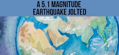 A 5.1 magnitude earthquake jolted