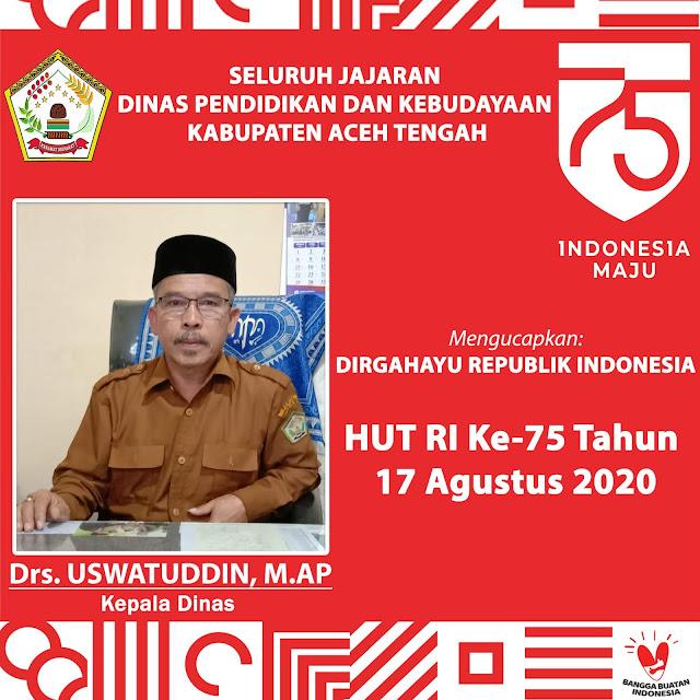 Drs. USWATUDDIN, M., AP. Kepala Dinas by LensaHukum.co.id