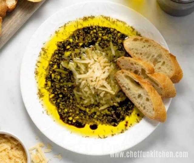 Easy Olive Oil Bread Dip