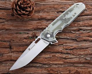 HX OUTDOORS ZD-010B folding knife opened