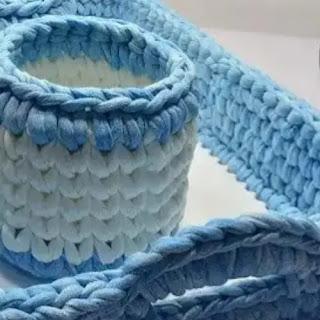 Juego de baño a crochet