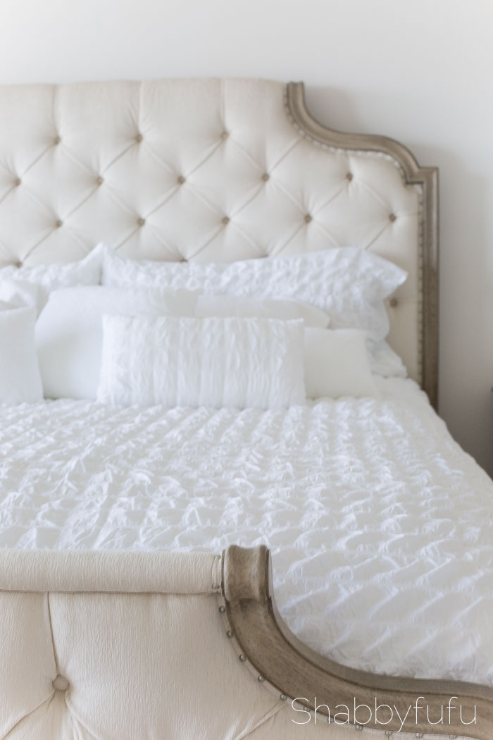 french bed tufted