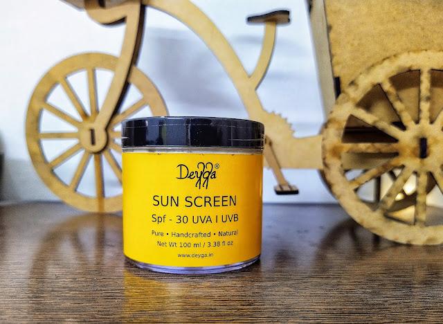 Deyga sunscreen 30 spf