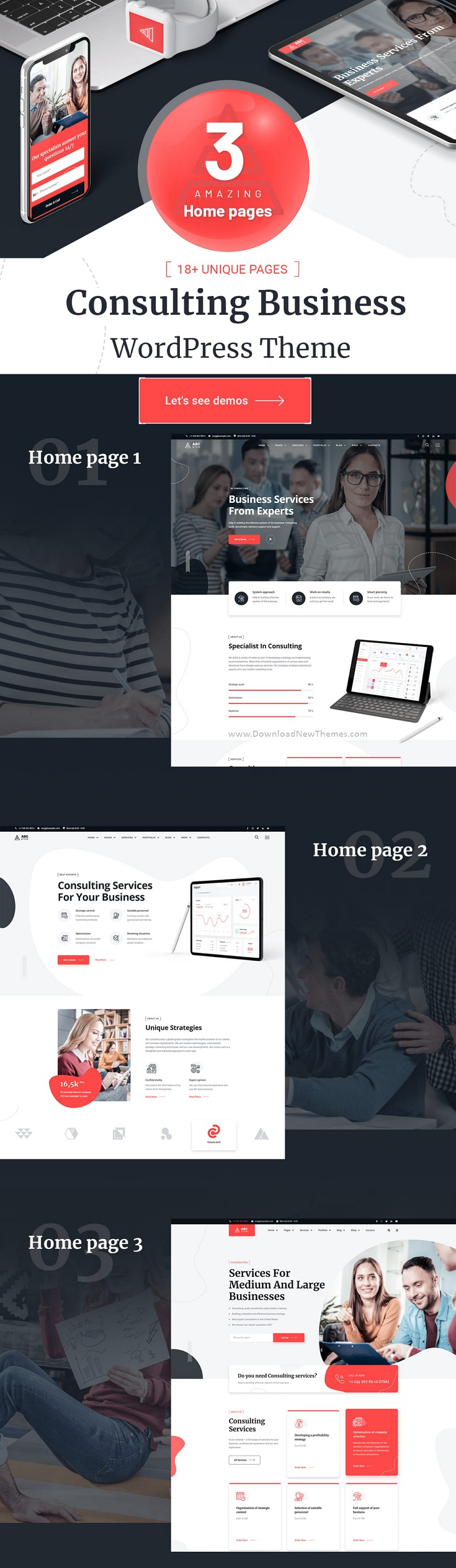 ABCGroup - Consulting Business WordPress Theme