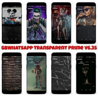 whatsapp Mod (GBWhatsApp Transparent Prime) Apk v6.35 for android