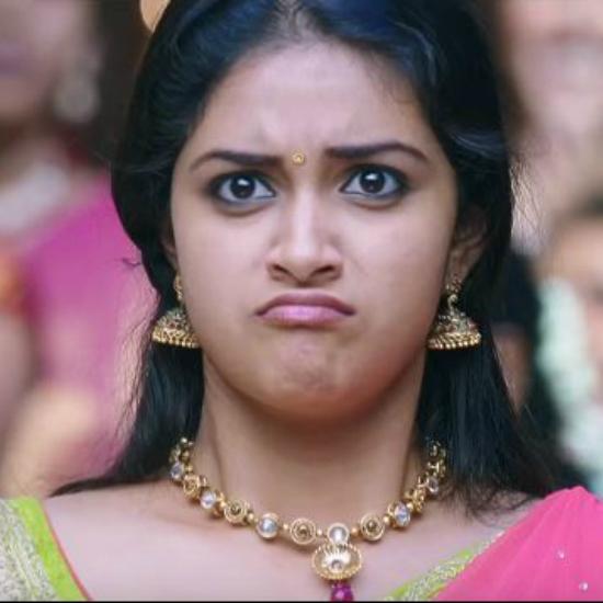 Expressions of Keerthi Suresh In Rajinimurugan Movie Sivakarthekeyan starrer