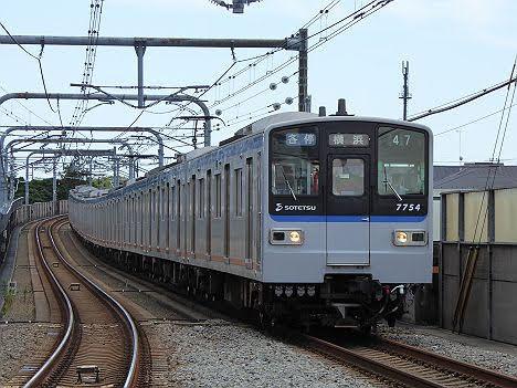【運行終了!】新7000系の各停 横浜行き