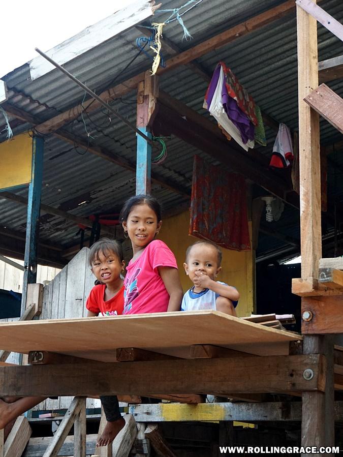 Bajau Laut or Sea Gypsies of Sabah