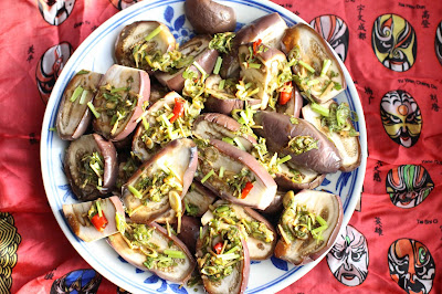 aubergines cuisson vapeur