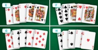 Can you spot the winning hand?
