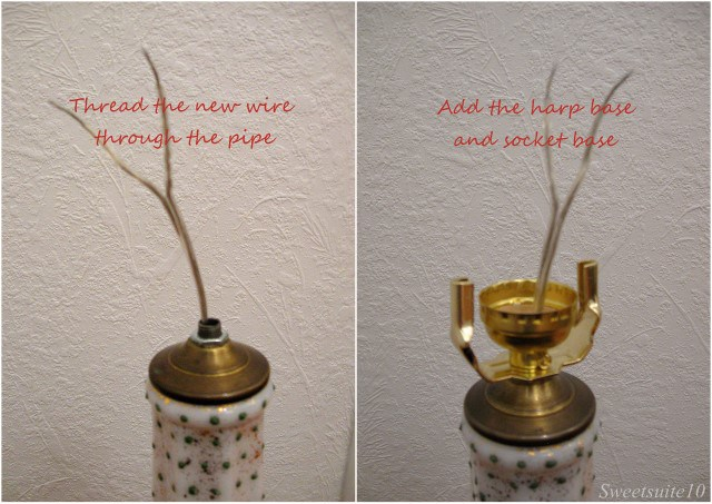 How to rewire a lamp - part 2