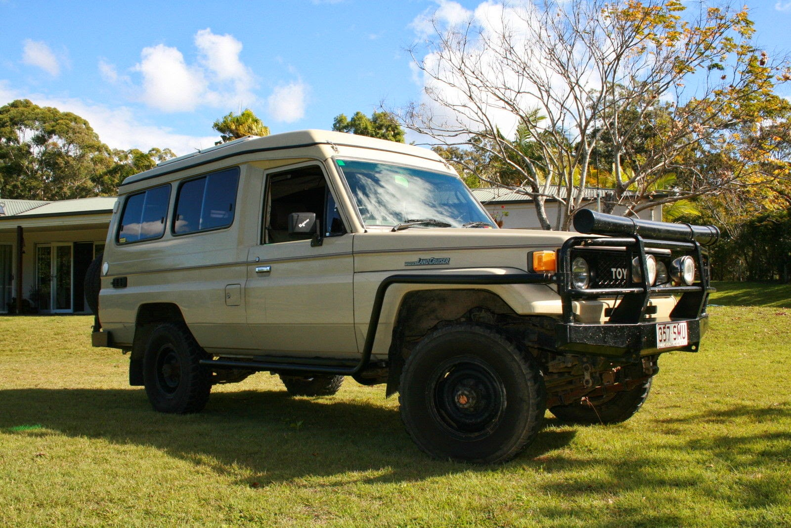 Used Rvs Toyota Landcruiser Trakka Pop Top Off Road