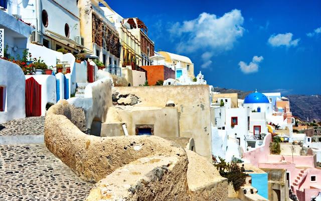 Xem ảnh đẹp Santorini - Hy Lạp