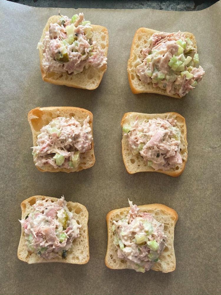 Olive Oil Poached Tuna salad