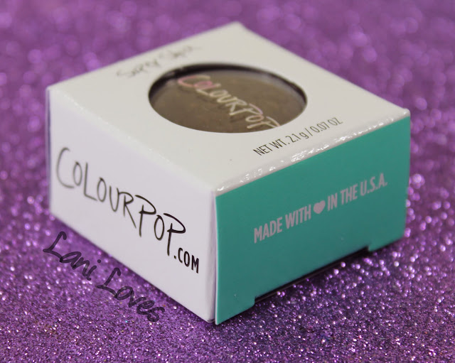 ColourPop Super Shock Shadow - I Heart This, On the Rocks, Mooning and Cricket Swatches & Review