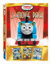 Thomas & Friends: 3 Movie-Pack