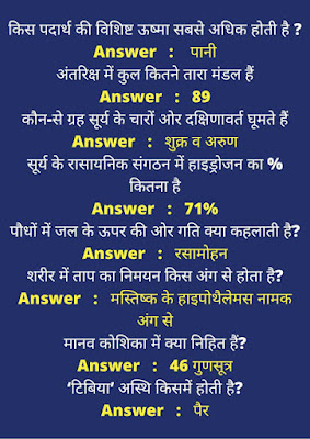 GK Objective Question in Hindi PDF