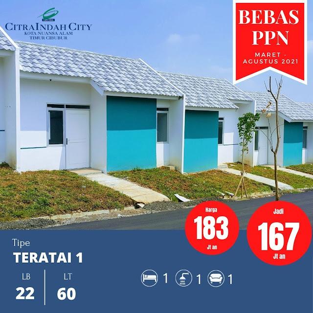 Rumah Murah Bebas PPN 2021 Citra Indah City