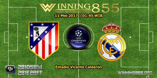 Prediksi Skor Atletico Madrid vs Real Madrid 11 Mei 2017