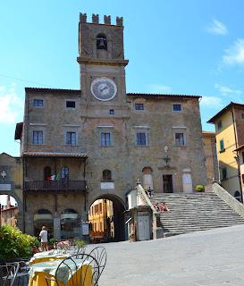 The Palazzo Comune in Cortona