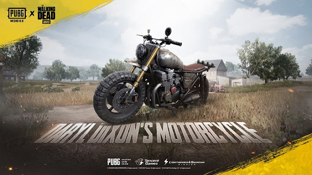 pubg darly dixon motorcycle