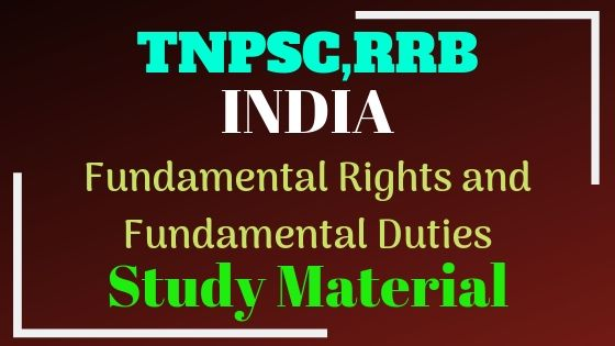 India Fundamental Rights and Fundamental Duties