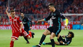 مشاهدة مباراة ريال مدريد وبايرن ميونخ بث مباشر نصف النهائي اليوم 1-5-2018 دوري ابطال اوروبا