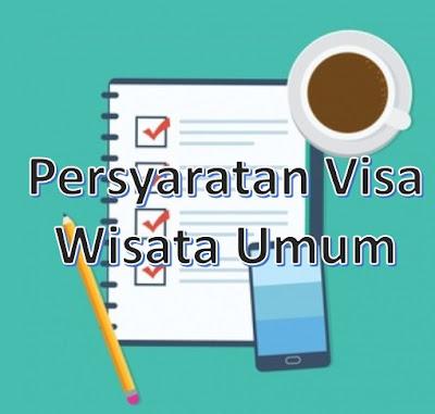 syarat visa korea wisata umum