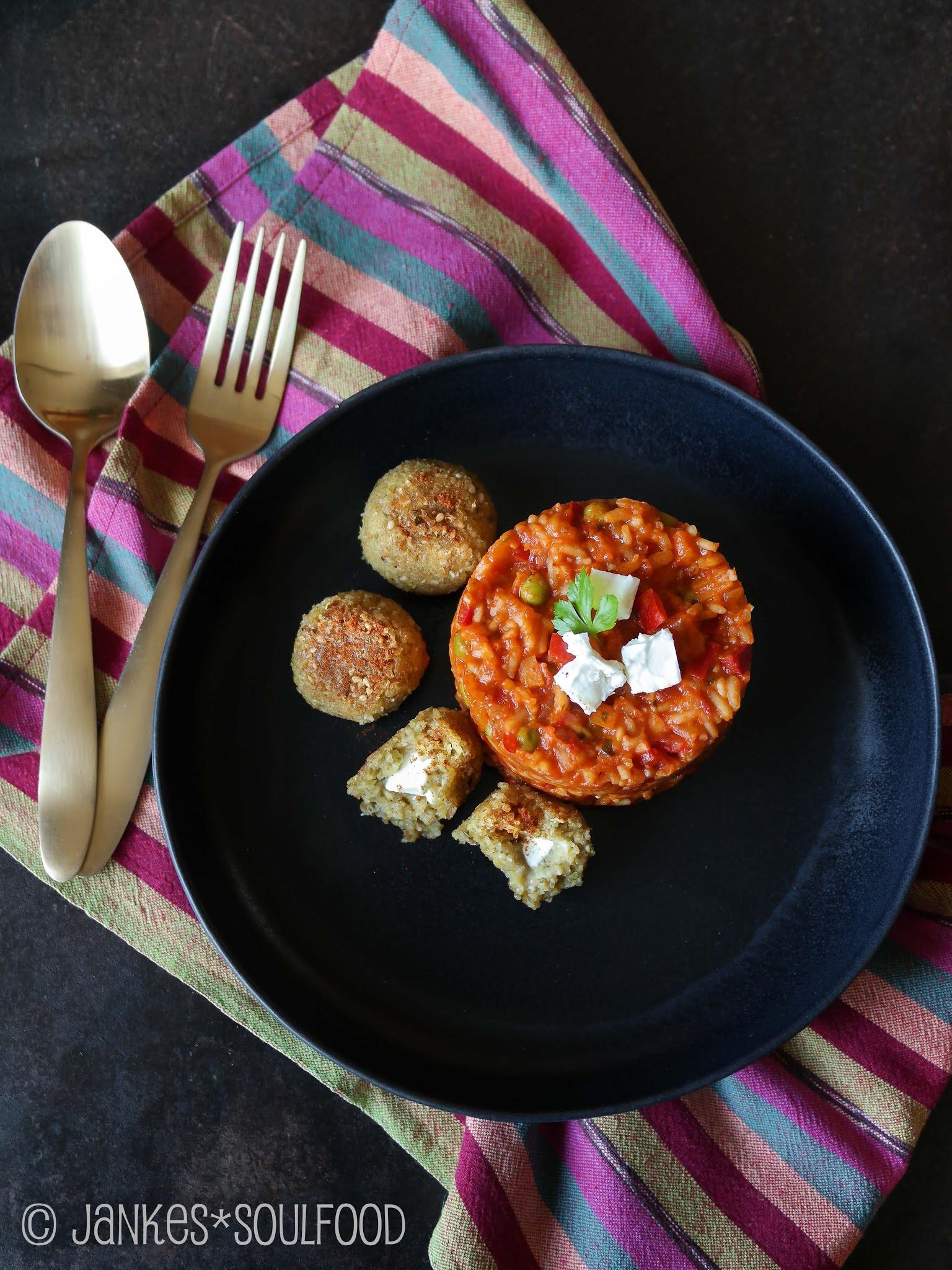 Djuvec-Reis ohne Fleisch
