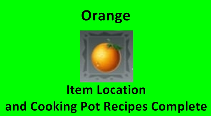 cooking pot recipes orange utopia: Origin