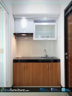Kitchen set apartemen gateway pasteur