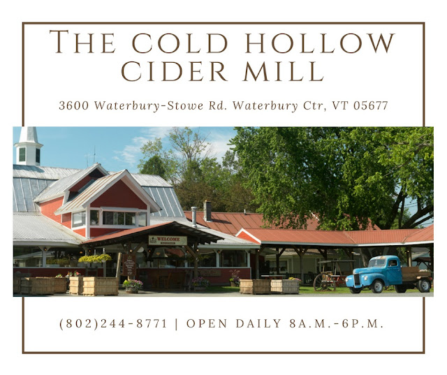 Cold Hollow Cider Mill. Share NOW. #cider donuts #desserts #donuts #eclecticredbarn