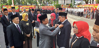 Gubernur Jambi Jadi Irup HUT Ke-57 Bank Jambi.