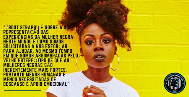 Boot Straps | Inspirada por Malcolm X, Lyric Michelle defende mulheres negras em seu novo single
