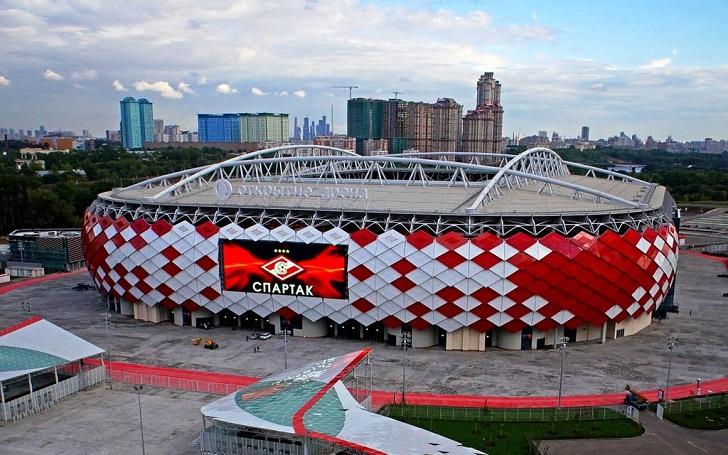 Spartak Stadium, Stadion Piala Dunia 2018