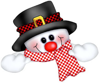 Merry Christmas Snowman Clip Art
