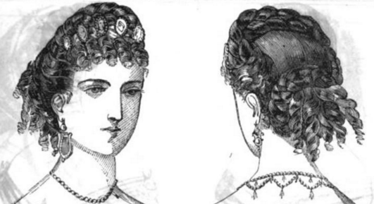 Hair Terms of the 1850s and 1860s | Beth's Bobbins