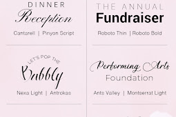 Fabulous Free Font Pairings for Special Occasions