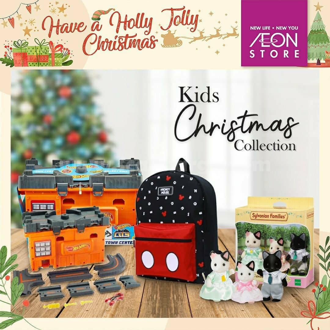 AEON STORE Kids Christmas Colecttion DISKON hingga 30%