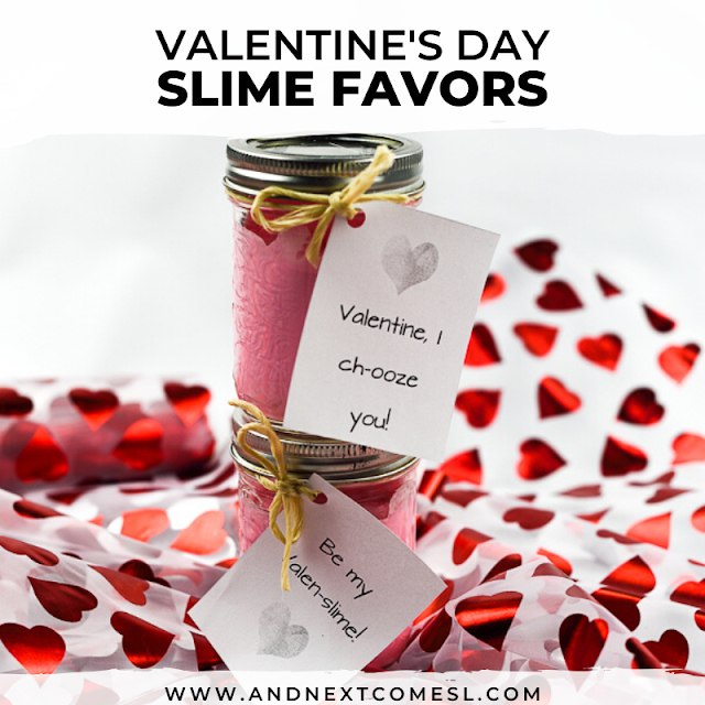How to make Valentine's Day slime