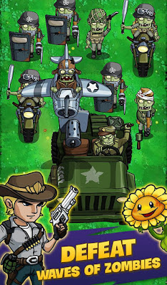 ZOMBIE WAR IDLE DEFENSE GAME (MOD, UNLIMITED MONEY) APK DOWNLOAD