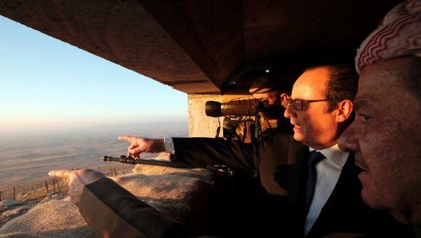Presidente Hollande justifica la intervención militar en Iraq