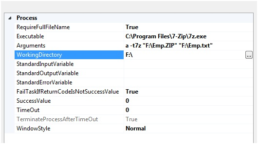 Microsoft Business Intelligence: Zip and unzip the files