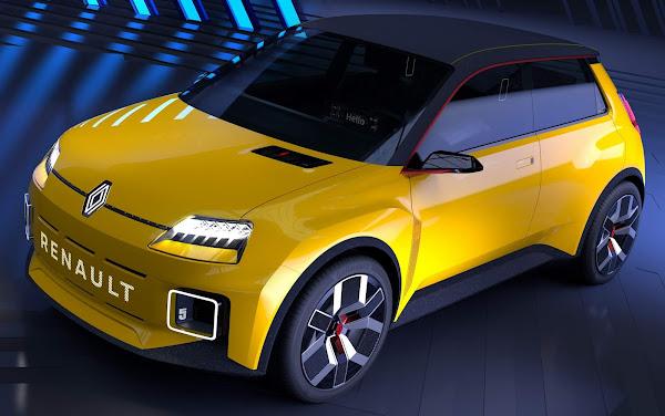 Renault 5 ressuscitado agora como compacto elétrico