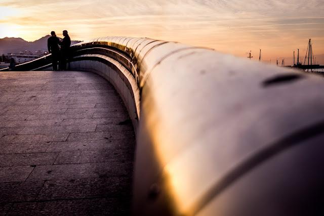Puente de la Constitución en Ceuta