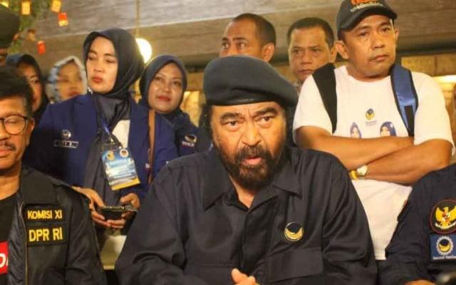 Surya Paloh Tidak Masalah dengan Kritikan Prabowo