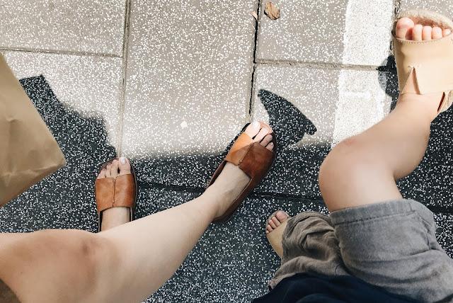 小節休息,手工寬版真皮涼鞋顧客實穿心得