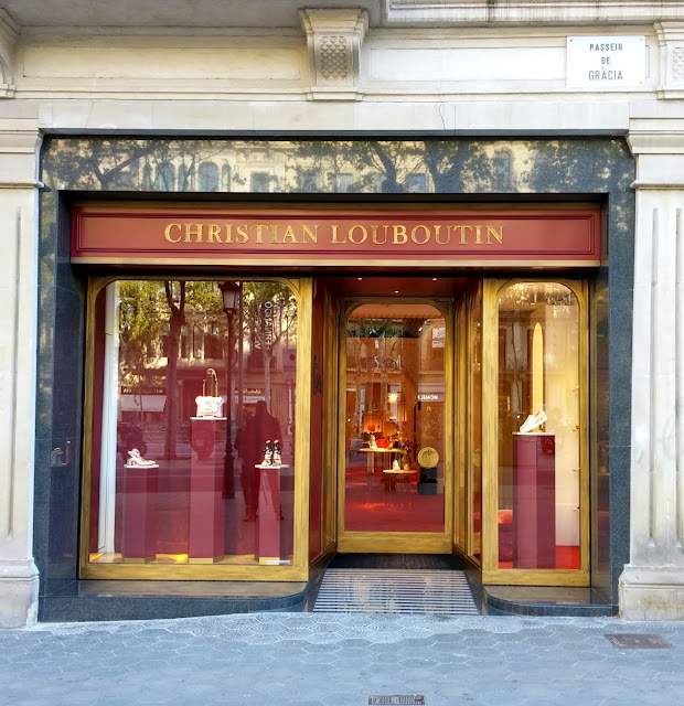 barcelone,christian-louboutin,boutique,luxe,madamegin,blog,Passagei-de-Gracia