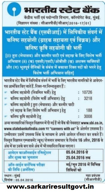 Sbi Clerk Online Application Form 2018 Sbi Clerk Jobs Vacancies Gk